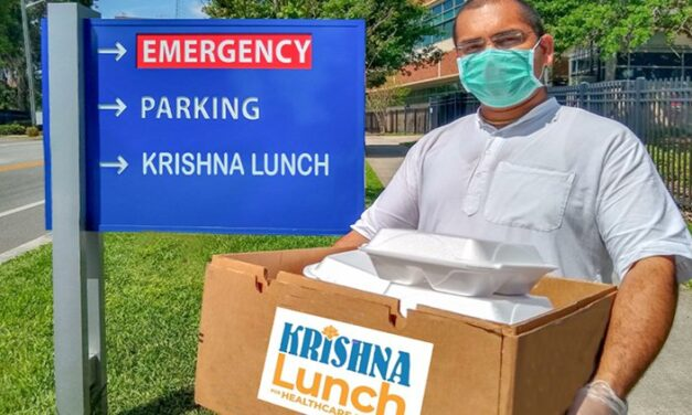 """""""Krishna Lunch for Healthcare Heroes"""" Launches in Gainesville, Florida"""