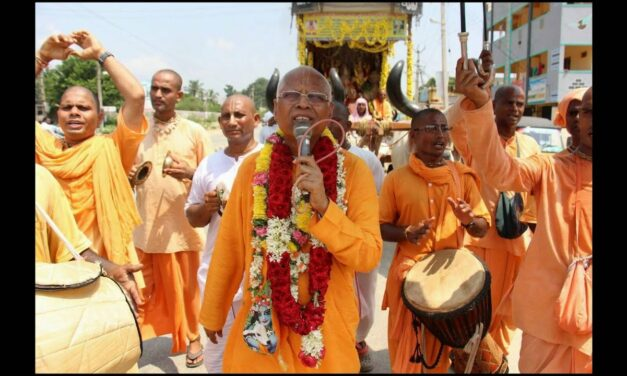 How did the Indian Padayatra parties deal with the lockdown?
