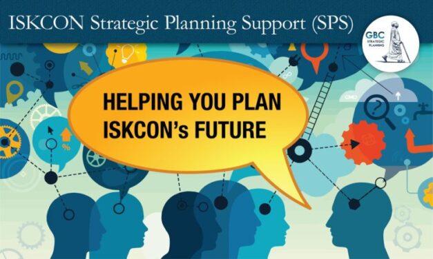 Opportunity in Adversity-SPS-Helping ISKCON plan it's Future