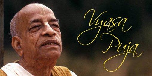 Srila Prabhupada's 2020 Vyasa Puja book