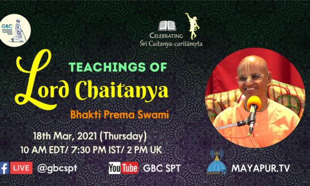 Teachings of Lord Chaitanya