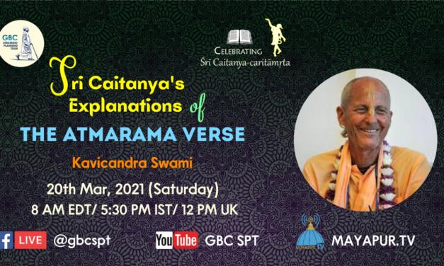 Sri Caitanya's Explanations of the Atmarama Verse