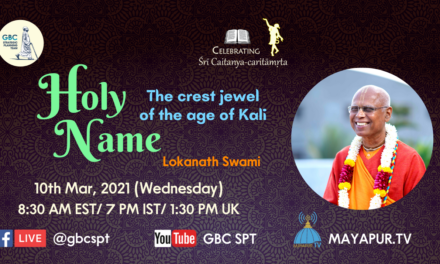 Holy Names-The crest jewel of the age of Kali