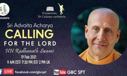 Sri Advaita Acarya –  Calling for the Lord