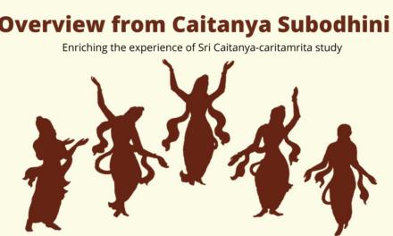 Overview from Caitanya Subodhini