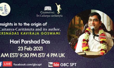 Insights in to the origin of Śrī Caitanya-caritāmṛta  and its author, Krsnadas Kaviraja Goswami