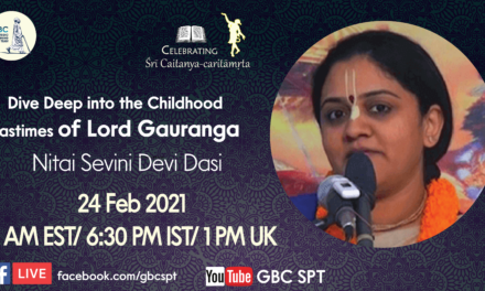 Dive Deep into the Childhood Pastimes of Lord Gauranga