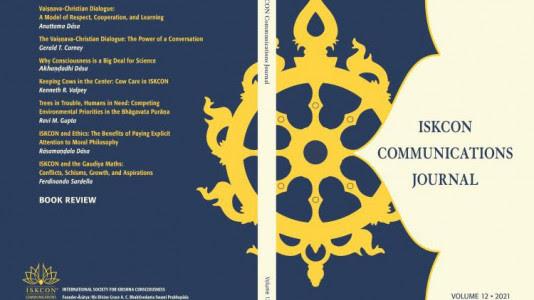 ISKCON Communications Journal Returns