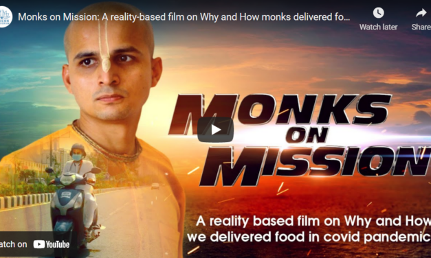 Monks on Mission: A reality-based film on Why and How monks delivered food in deadly Covid 2nd wave