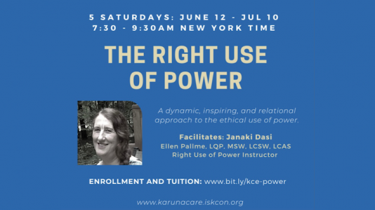 Right Use of Power Course