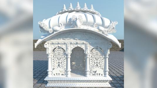 His Holiness Bhakti Charu Swami Maharaja's Samadhi in Mayapur