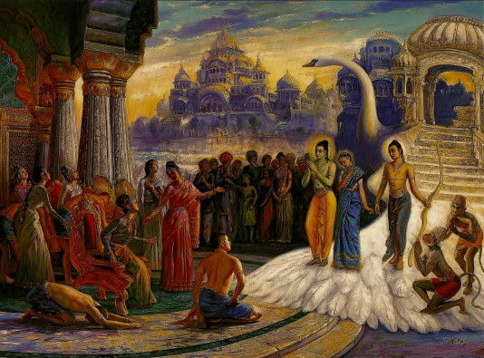 The Ramayana on the Need for a Proper Leader